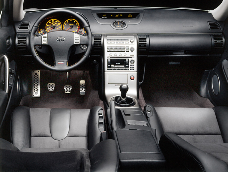2003 2007 Infiniti G35 Sport Coupe Cockpit Picture Pic Image