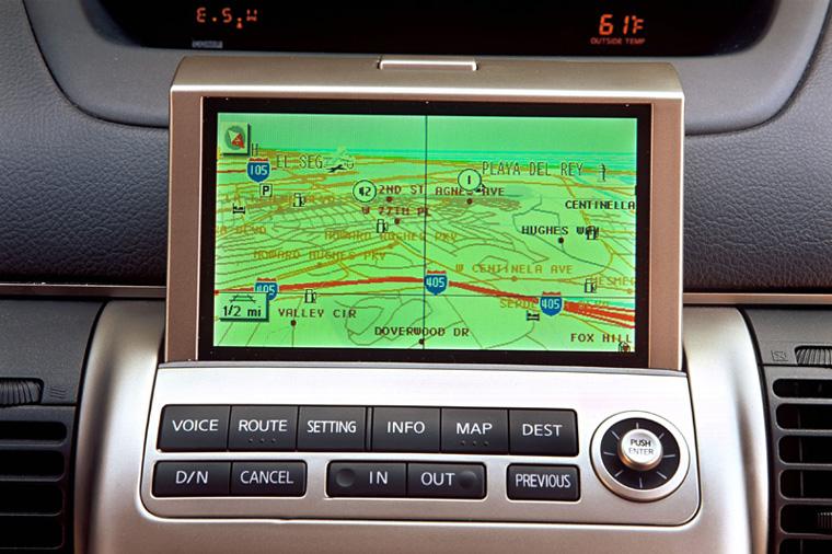 2003 Infiniti G35 Coupe >> 2003 - 2007 Infiniti G35 Sport Coupe Navigation Screen ...