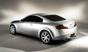 2003 2007 infiniti g35 g 35 sport coupe infinity. Black Bedroom Furniture Sets. Home Design Ideas