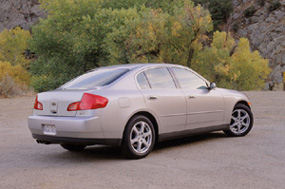 Infiniti G35 Infinity G 35 Sedan Coupe Reviews Pictures