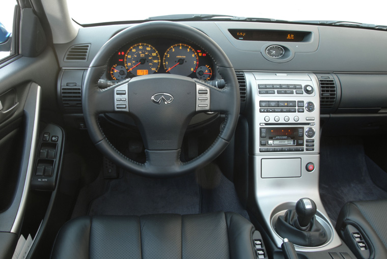 2003 2006 Infiniti G35 Sedan Cockpit Picture Pic Image