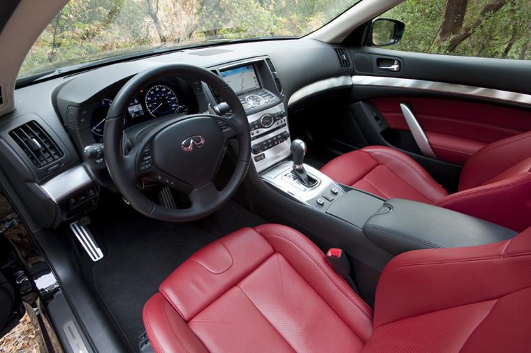 2017 Infiniti G37 Ipl Coupe Interior Picture